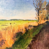 kath-wallace-cuckoo-hill-and-mendham-marshes-miniwork
