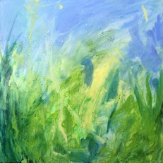 kath-wallace-summer-hedge-and-sky-landscape-painting