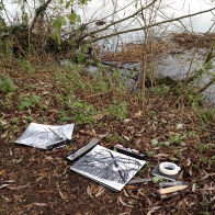 kath-wallace-drawing-by-the-river-in-december
