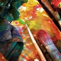 studio-basic-materials-strong-brushes-sketch-book-and-rags-for-cleaning-and-creating-texture